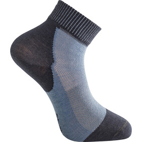 Woolpower Skilled Liner Short Socks, dark navy/nordic blue